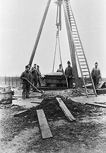 bouw-van-een-hefkoepel-in-begin-1900